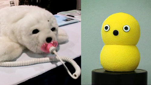 The Invasion of Cute, Therapeutic Robots