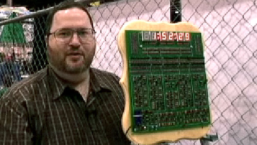 Maker Faire 2008: Spectrum's Digital Clock Contest Winner