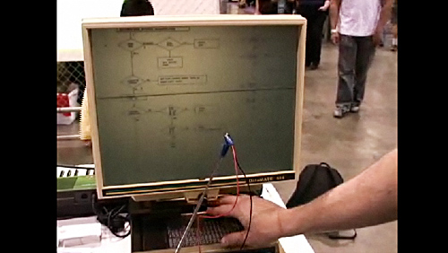 Maker Faire 2008: The Microfiche MIDI Controller
