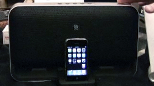 CES 2008: The first Works with iPhone Speaker and Dock