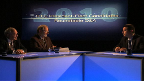 2010 IEEE President-Elect Candidates Roundtable