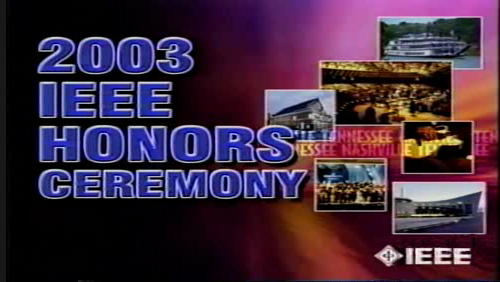 2003 IEEE Honors Ceremony