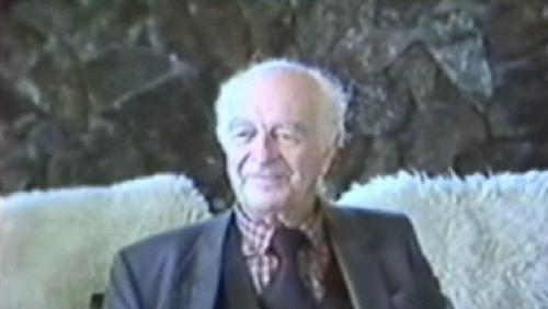 Larson Collection interview with Linus Pauling, part 1