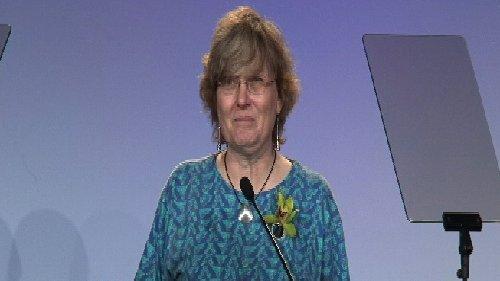 2011 IEEE Jack S. Kilby Signal Processing Medal - Ingrid Daubechies