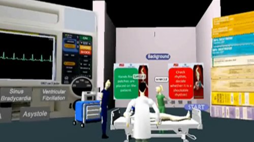 Virtual World Symposium 2011 - Collaborative Work