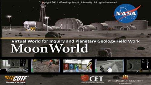 Virtual World Symposium  - Moon World