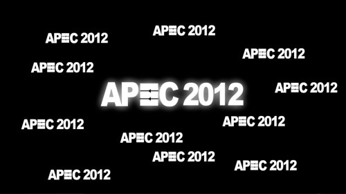 APEC 2012 Preview