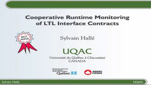 EDOC 2010 - Sylvain Halle - Best Paper Presentation