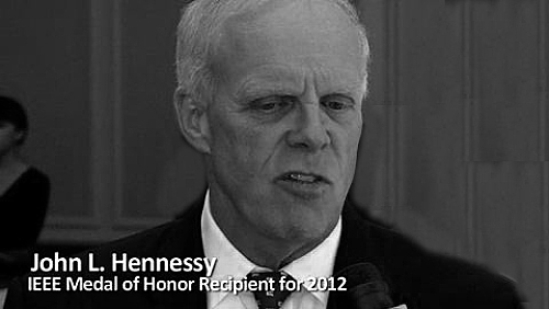 Hennessy: Behind the honors