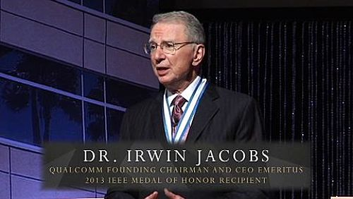 Irwin Jacobs IEEE Medal of Honor event at Qualcomm