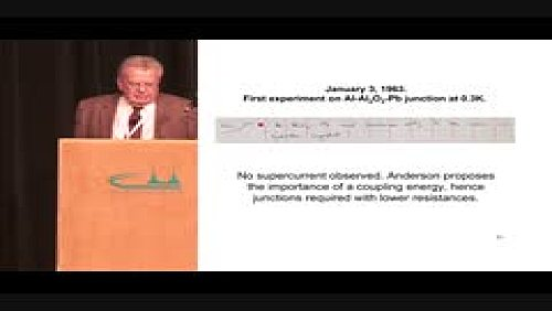 The Josephson Effect: The Observations of Josephson's Effects