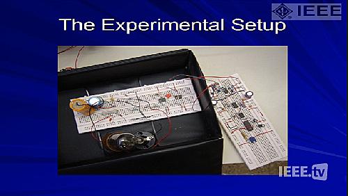 Tutorial of Shlomo Engelberg on use of noise to make measurements