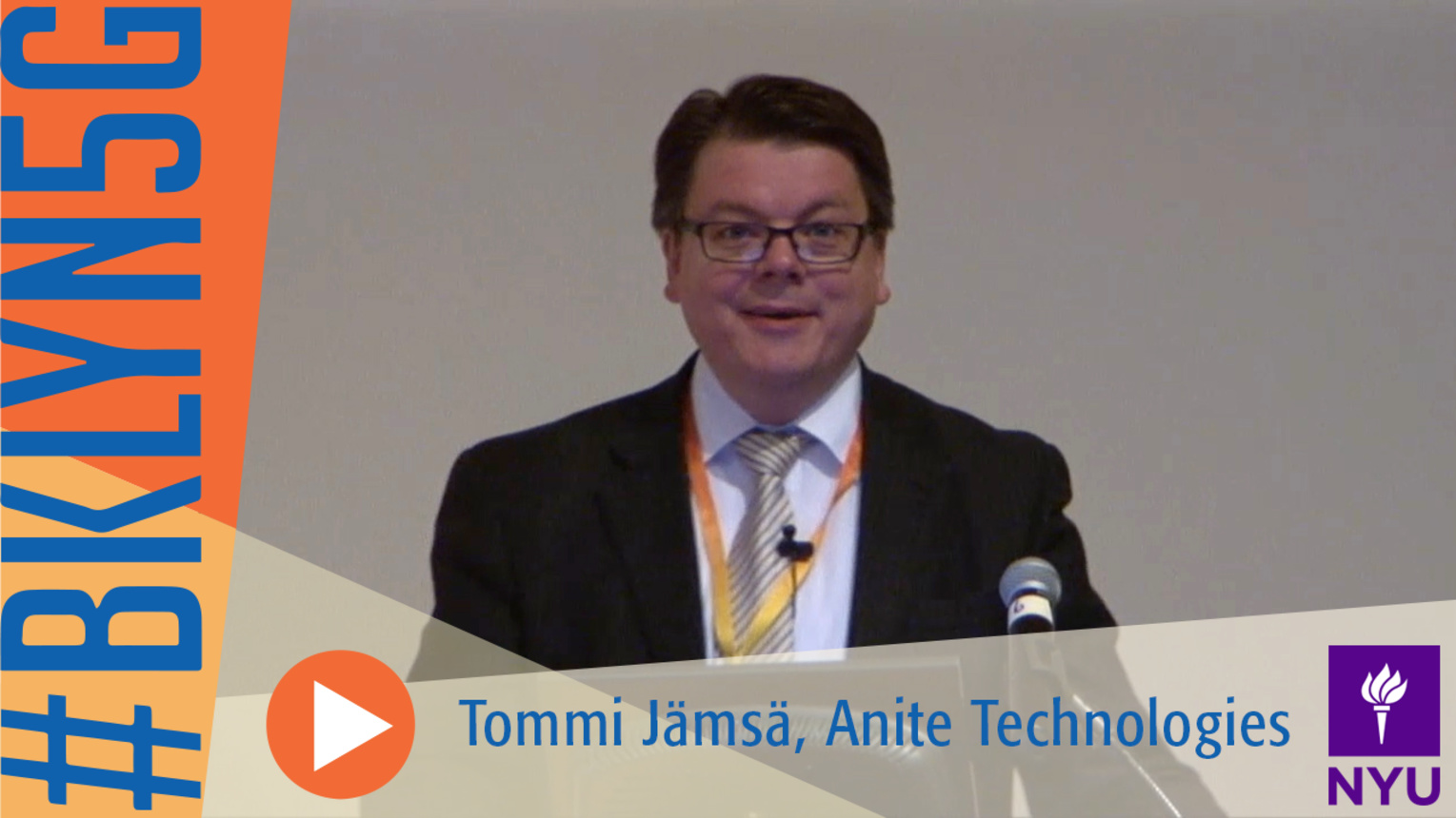 The Brooklyn 5G Summit: Tommi Jamsa of Anite Telecoms