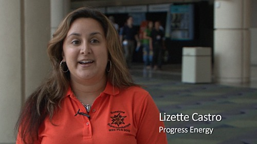 WIE: Our Own Voices - Lizette Castro, Progress Energy