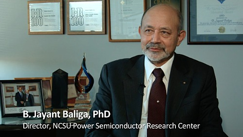 B. Jayant Baliga: IEEE Medal of Honor - IGBT and energy savings
