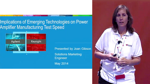 MicroApps: Implications of Emerging Technologies on Power Amplifer Manufacturing Test Speed (Agilent Technologies)