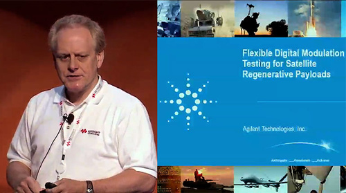 MicroApps: Flexible Digital Modulation Testing for Satellite Regenerative Payloads (Agilent Technologies)