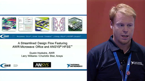 MicroApps: A Streamlined Design Flow Featuring AWR Microwave Offce and Ansys HFSS (AWR)