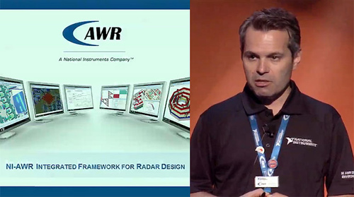 MicroApps: Radar Design Flow with NI-AWR Integrated Framework (National Instruments)
