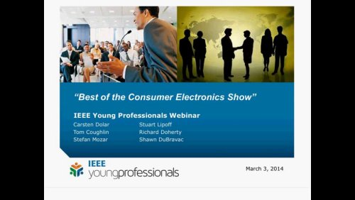 Best of Consumer Electronics Show Webinar