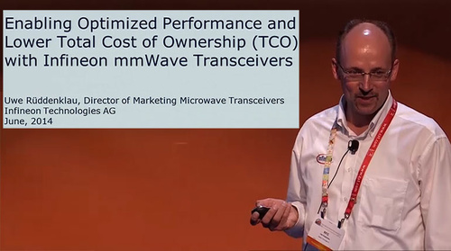 Microapps: Enabling Optimized Performance and Lower TCO (Total Cost of Ownership) with Infineon mm-Wave Transceiver