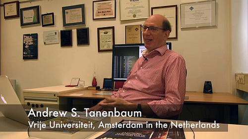 Andrew Tanenbaum: Writing the Book on Networks