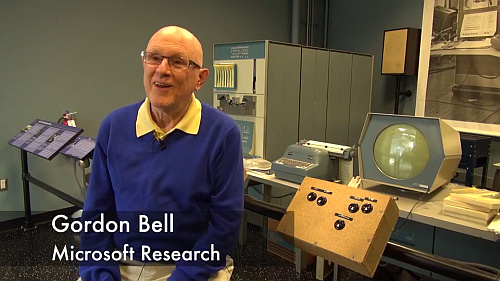 Computing Conversations: Gordon Bell on the Building Blocks of Computing