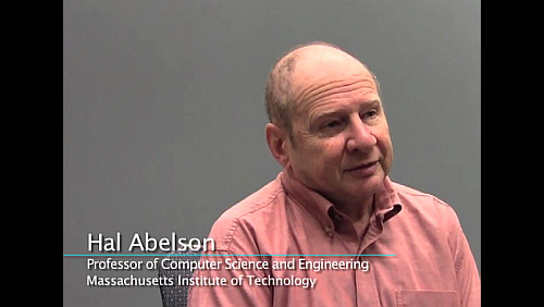 Hal Abelson on Computer Science Education
