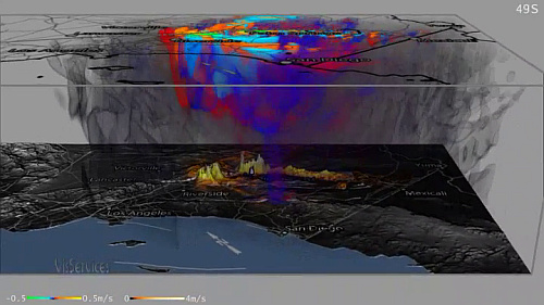 High-Resolution Earthquake Simulations