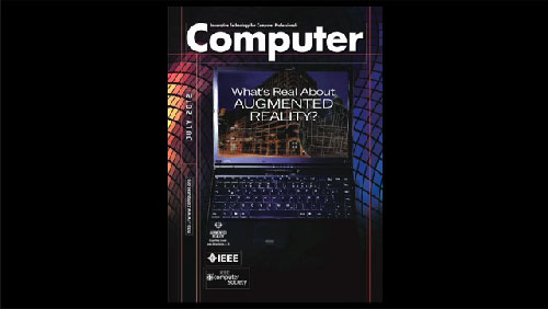 Computer magazine -- Augmented Reality App