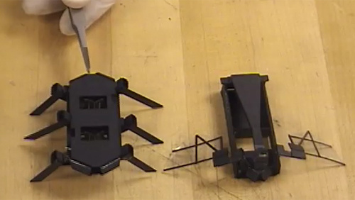 Fast Scale Prototyping for Folded Millirobots