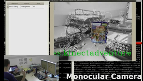 Recording and Using 3D Object Models with RoboEarth