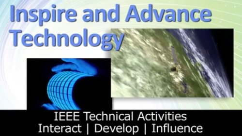 IEEE Technical Activities Overview