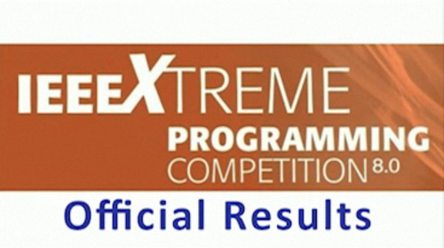 IEEExtreme 2014 Results