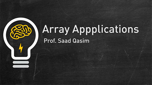 Array Applications