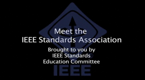 Meet the Standards Association (IEEE Standards Education)