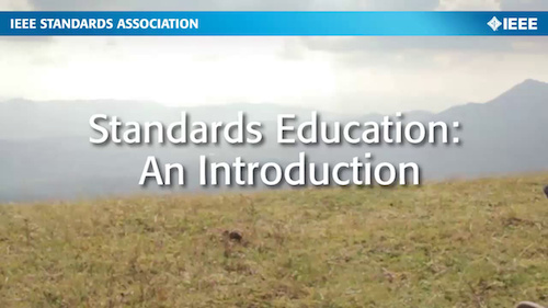 Standards Education: An Introduction (English)