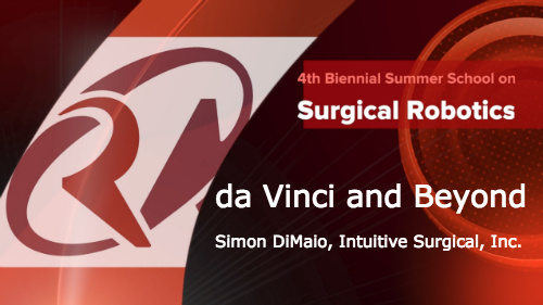 Surgical Robotics: da Vinci and beyond