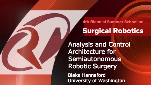Surgical Robotics: Analysis and Control Architecture for Semiautonomous Robotic Surgery