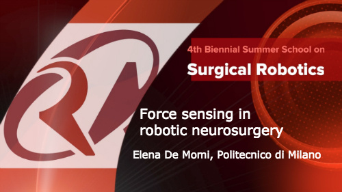 Surgical Robotics: Force sensing in robotic neurosurgery
