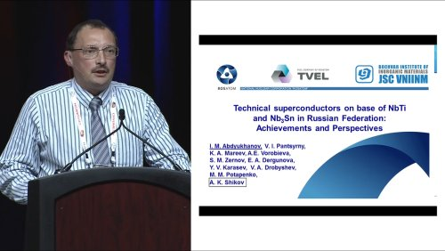 ASC-2014 10 Years beyond the 50th Anniversary of High Field Superconductivity: 4 of 9 - IldarAbdyukhanov