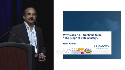 ASC-2014 10 Years beyond the 50th Anniversary of High Field Superconductivity: 2 of 9 - Hem Kanithi