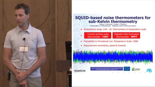 ISEC 2013 Special Gordon Donaldson Session: Remembering Gordon Donaldson - 7 of 7 - SQUID-based noise thermometers for sub-Kelvin thermometry