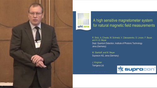 ISEC 2013 Special Gordon Donaldson Session: Remembering Gordon Donaldson - 6 of 7 - A high sensitive magnetometer system for natural magnetic field measurements