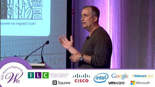 WIE ILC 2015: Leadership in Todays Tech Industry a Keynote with Intel CEO Brian Krzanich