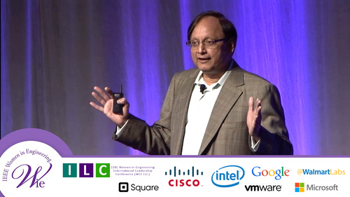 WIE ILC 2015: The Power of Women Engineers a Keynote with Pankaj Patel of Cisco