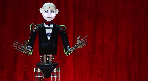 RoboThespian Invites You to Watch the IEEE Honors Ceremony