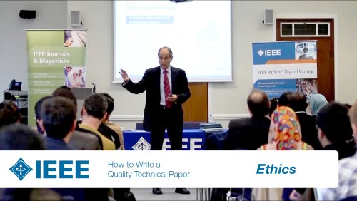 IEEE Authoring Part 5: Ethics