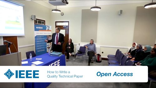 IEEE Authoring Part 7: Open Access