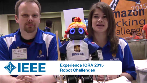 Experience ICRA 2015: Robot Challenges